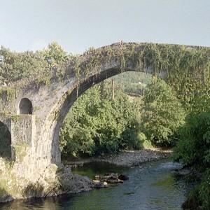 Puente Romano (Arriondas) 40 km.