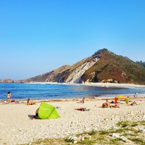 Playa de San Antolin (1 Km)